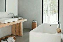 Badkamer / Hoe we onze badkamer in willen richten