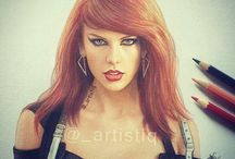 Taylor Swift draws