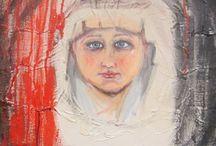 """""""NELLA LUCE...BUIO"""" - Personale di Franca Tronci / Sono anime pure, quelle che appaiono silenziose nei dipinti di Franca Tronci, brutalmente spezzate dall'egoismo e dalla crudele ferocia di chi non sente la colpa, di chi non rispetta la bellezza e non sa apprezzarla se non distruggendola. Corpi fragili, abbandonati al proprio destino, quello di chi non ha un futuro, dimenticato da tutti, anche da coloro che dovrebbero essere la casa, il focolare protettivo, l'affetto familiare."""