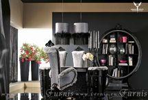 HOME OFFICE | Домашние кабинеты / Окружите себя вещами, которые подчеркнут Ваш статус.