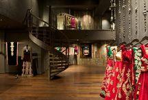 MUMBAI STORE - SHYAMAL & BHUMIKA / Interior style of the Shyamal & Bhumika store in Mumbai  / by SHYAMAL & BHUMIKA
