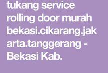 tukang service rolling door