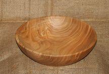 Skeer og skåle / Hvad man kan lave af træ