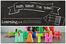 Math ideas I've tried