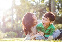 Famílias / Ensaio fotográfico de família