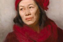 figura humana III - pintura / - técnicas variadas -