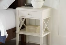 end tables + nightstands