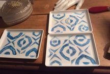 Porcelaine by DL / Projet de vaisselle contemporaine pour Miami Beach