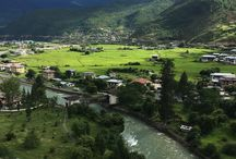 Paro Valley, the valley of Red rice.