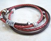 Anklegypsy / leather ankle bracelets