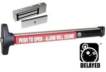 Detex value exit alarm delayed magnetic locking 36""