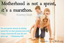 Mommyhood / by Andrea Back-Schaefer