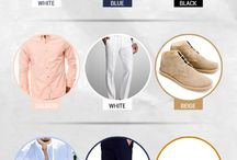 Mens wear color combinations