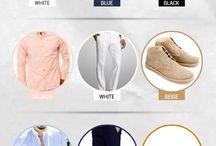Mens wear color combinations