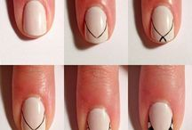 Easy Nail Designs / Cute and cool quick and easy nail designs for beginners and nail designs for short nails to do at home. Fun nail designs for summer, fall, winter & spring. - http://beautifieddesigns.com/easy-nail-designs/
