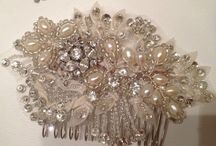 Bridal hair accessories 2015 / 2016 / Follow for our Friday Favourites from our Etsy shop. Bridal hair accessories.