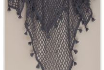 châles écharpes et gants