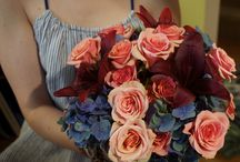 Summer Floral Designs / Bouquets, centerpieces, corsages, and boutonnieres perfect for weddings, receptions, or special event.
