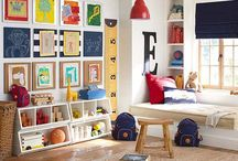 Kids bedroom/Playroom ideas / by Audra Welch