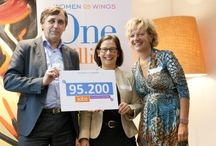 6th Anniversary 2013 / On September 24th, at 6th anniversary in Amsterdam, Women on Wings unveiled a new milestone: 95,200 jobs for women in rural India.       Photo's: Cornelie de Jong