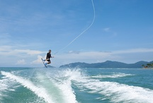 Get On The Water-Sports / Waterskiing. Wakeboarding. Tubing. If you're looking to get wet and go fast you'll find there's no shortage of fun to be had with a boat. Watersports such as waterskiing, wakeboarding and tubing offer you and your family the ultimate in thrills and high-energy adventure!