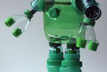 Искусство из пластиковых бутылок