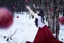 Goddess/Priestess / www.squamartworkshops.com/the-magic-of-myth