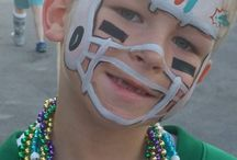 Sports Face and Body Painting / Sport themed paints