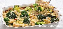Quiche met broccoli en spekjes