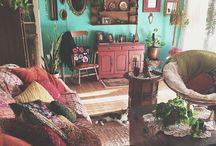 my dream bohemian home