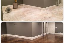painting cement floorsbsmt