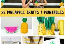 Pineapple Obessed! / my current obsession PINEAPPLE! a collection of pins of this gorgeous yellow fruit!  / by Shalise Mein