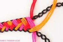 DIY Ethnic Wool Necklace - Tutorial