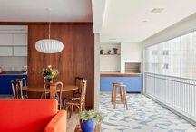 Ambientes Integrados / Os ambientes decorados estão conquistando cada vez mais espaços nas casas brasileiras. Fique por dentro dessa tendência com lindas inspirações!