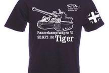 Panzer T-Shirts / T-Shirts mit Panzermotiven / Shirts with tanks