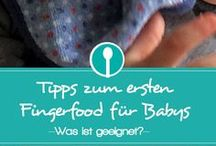 Baby erste Fingerfoot