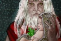 Holly King/Father Christmas/Santa Claus / by Shasta Seagle