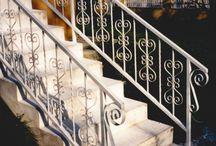 lépcső és terasz korlátok