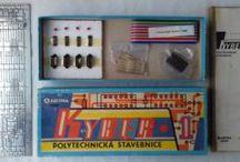 Kyber 1 - electronic kit / stavebnice / Czech vintage digital electronic kit from 80' / Česká elektronická stavebnice číslicové techniky z 80. let.