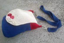 szydełkowa torebka/ crochet bag