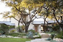 home exteriors / by Evan Lacefield