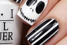 nails halloween