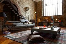 Interior Design / Industrial architecture for the home