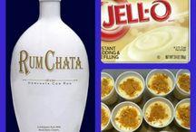 Pudding & J-e-ll-o shots!