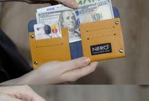 Bifold Wallet - Minimalist Wallet
