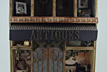 Configuration/Shadow Boxes & Doll houses / by Anguree Van Rensburg