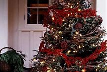 Beautiful Real Trees / We love real Christmas trees… Here are some of our favourites :)