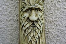 Wood carving / Original design and art from wood
