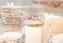 Décoration table Noël