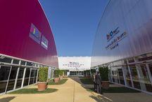 Parco della Biodiversità - Expo 2015 / Posa ceramica e ancoraggio strutture metalliche con Mapefill, Topcem Pronto e Kerabond